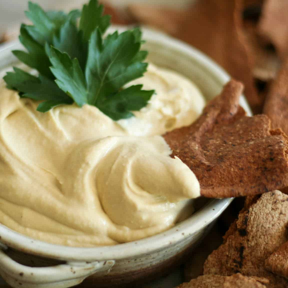 Velvety Hummus | by Sonia! The Healthy Foodie