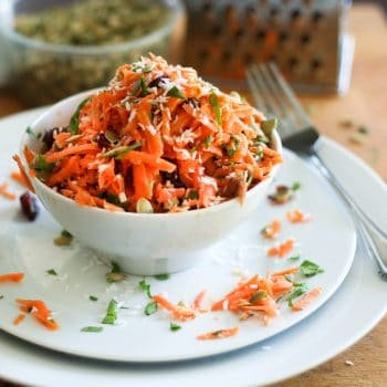 Expenses, expenses… and the Best Carrot Salad Ever!