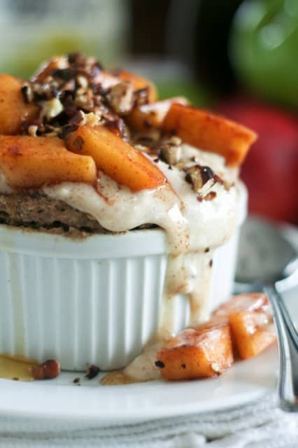 Apple Pecan Instant Buckwheat Bake • The Healthy Foodie