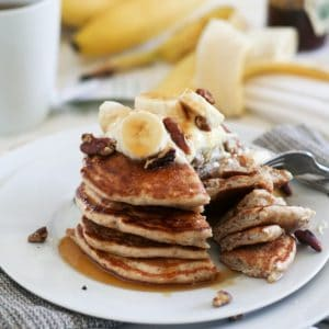 Back from Cuba and Banana Buttermilk Pancakes