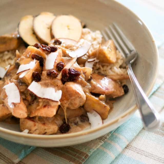 Plantain Chicken Experimental Dish • The Healthy Foodie