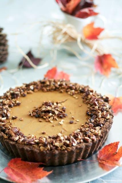Crazy Good yet Unbelievably Healthy Pumpkin Pie