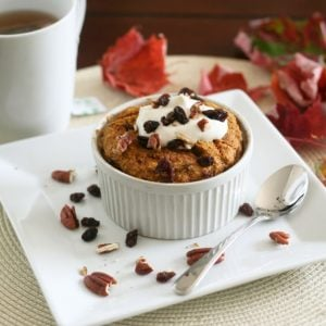 Long week-end wrap up and Instant Pumpkin Pie Oatmeal Bake