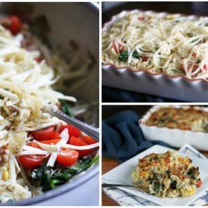 Spaghetti Squash Gratin