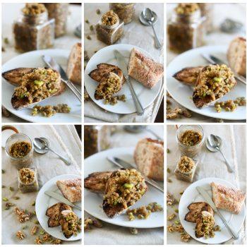 Baklava Style Walnut Butter