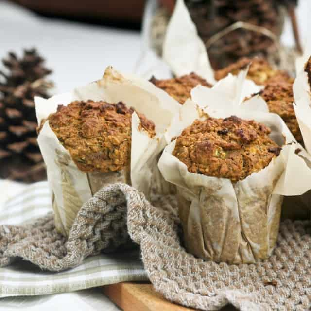 Pumpkin, Zucchini and Quinoa Muffins • The Healthy Foodie