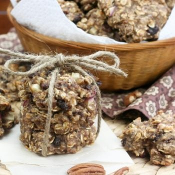 Way healthy oatmeal cookies, or when oatmeal poses as a cookie…