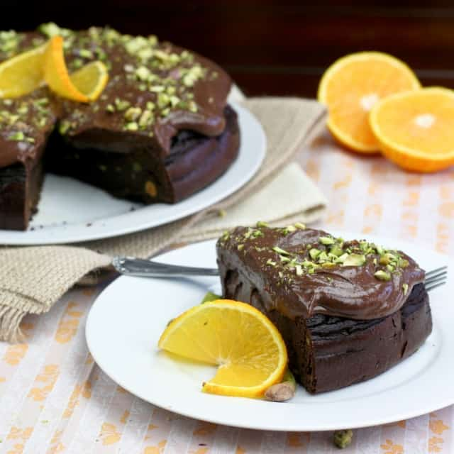 Healthy Flourless Chocolate Orange Cake • The Healthy Foodie