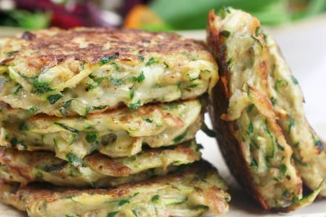 Healthier Zucchini And Carrot Fritters Recipes — Dishmaps