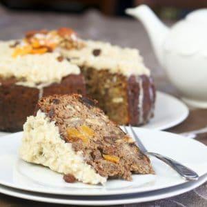 Healthy Chestnut Fruitcake