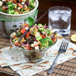 """Empty the fridge"" [or fill it up] Salad"