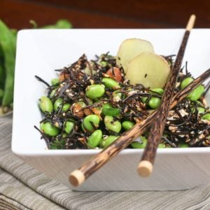 Totally Grain Free Arame and Edamame Salad