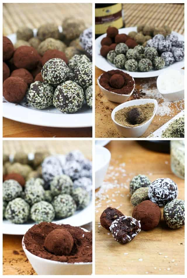 Healthy Chocolate Truffles | by Sonia! The Healthy Foodie