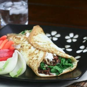 Totally Loaded Egg White Omelette – My Ultimate Quick Meal