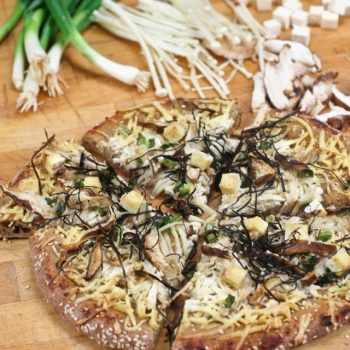 When Miso Soup Meets Pizza Dough…