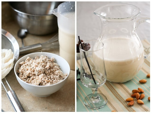 Totally Heavenly Homemade Vanilla Almond Milk