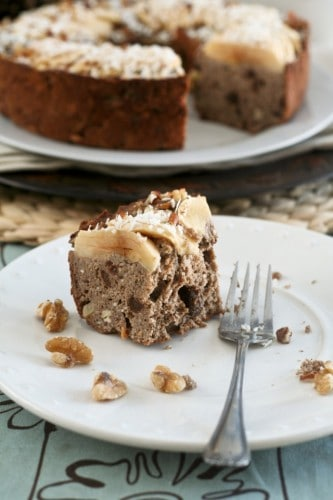 Totally Healthy, Vegan and Grain Free Buckwheat Apple Ring Cake