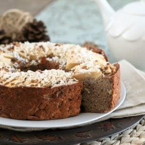 Totally Healthy, Vegan and Grain Free Buckwheat Apple Ring Cake
