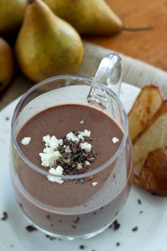 Caramelized Pear, Chocolate and... Goat Cheese Smoothie • The ...