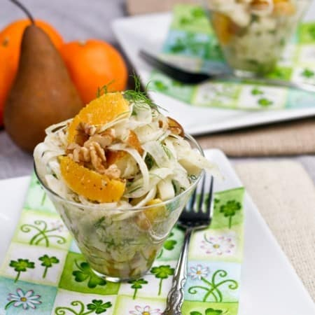 Bosc Pear, Orange and Fennel Salad Recipe [Guest Post]