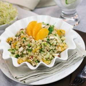 Quick and Easy Quinoa Orange Salad