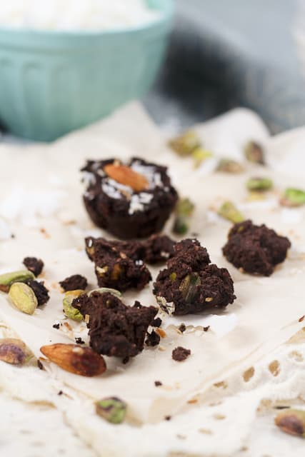 Mini Brownie Wannabe Fudgy Bites - Grain free, of course! - The ...