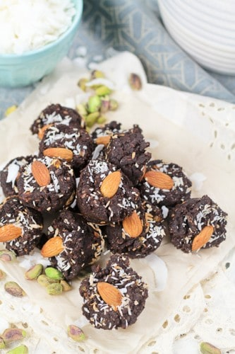 Mini Brownie Wannabe Fudgy Bites - Grain free, of course! • The ...