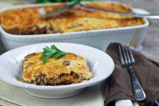 Vegetarian Moussaka | Recipes | Pinterest