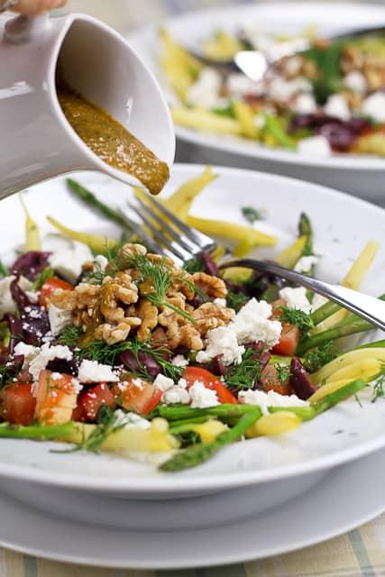 green bean salad bean and wax bean salad recipes asparagus green bean ...
