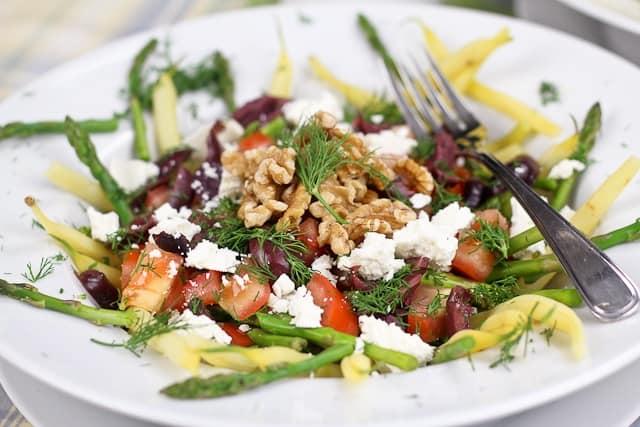 green bean salad asparagus green bean and wax bean salad green bean ...