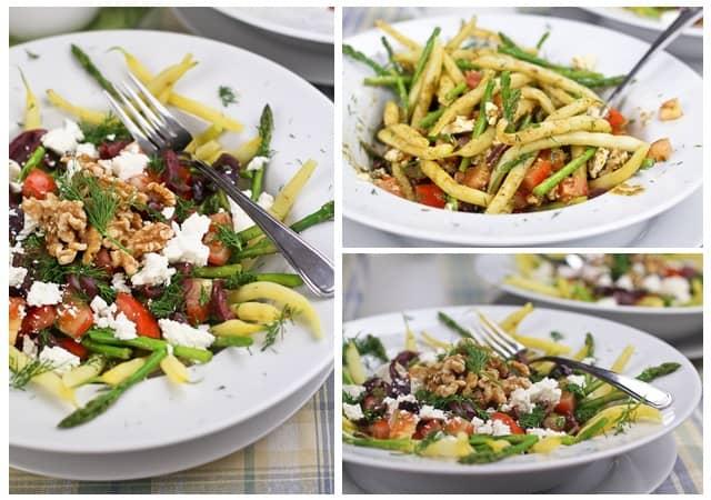 green bean salad asparagus green bean and wax bean salad recipes