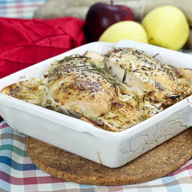 Cabbage Apple Chicken