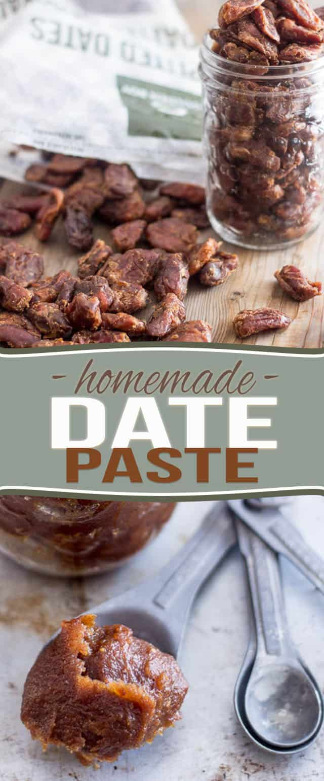 Date Paste - The Ultimate Natural Sweetener