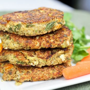Quinoa and Shrimp Patties