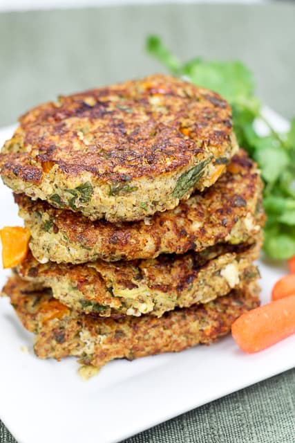 Shrimp and Quinoa Patties
