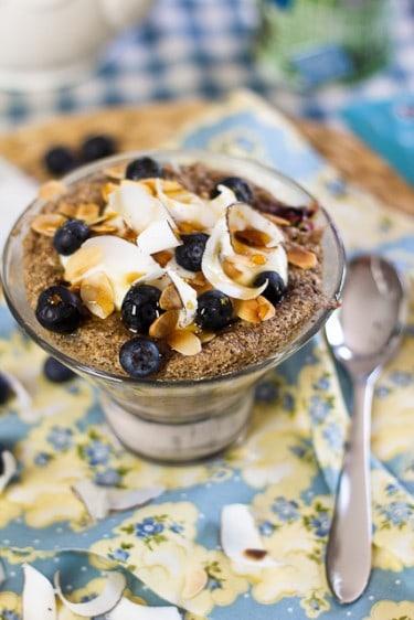 Blueberry Almond Instant Bake
