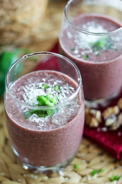Cherry Jalapeno Smoothie