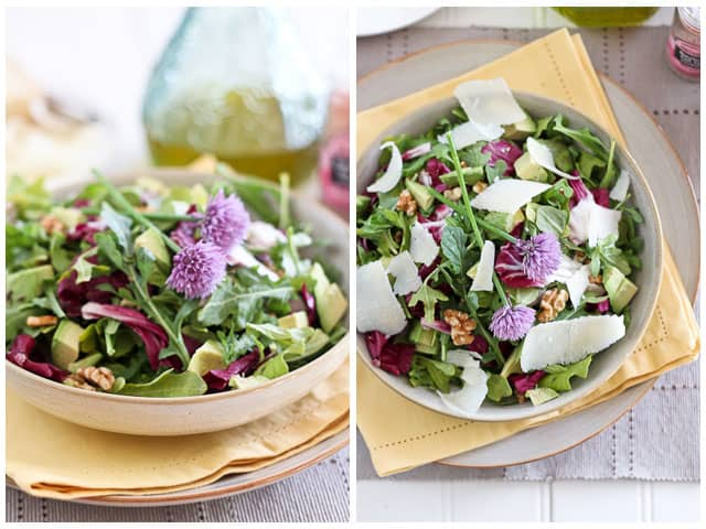 Simply Elegant Arugula Salad • The Healthy Foodie