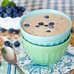 Getting back on track… and Blueberry Pancake Batter Smoothie