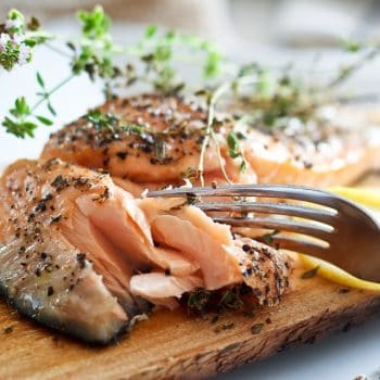 Cooking Salmon on a Cedar Plank – Much easier than I thought!