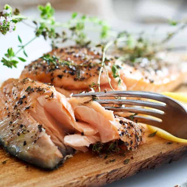 Cooking Salmon on a Cedar Plank – Much easier than I thought ...