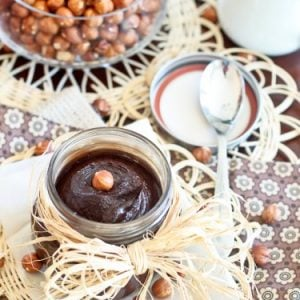 Chocolate Hazelnut Spread aka Nutella…
