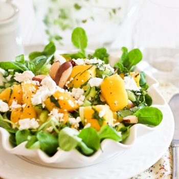 Mango, Celery and Goat Cheese Salad – A Winning Performance!