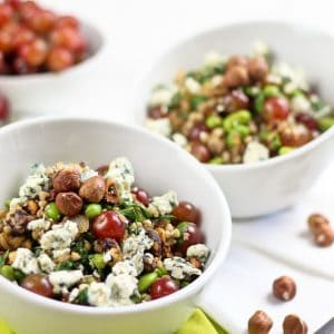 More Power Edamame Hazelnut Buckwheat Salad