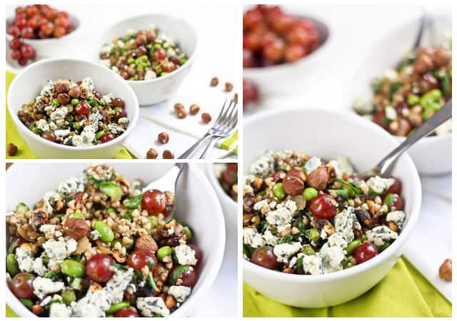 Power Hazelnut Buckwheat Salad
