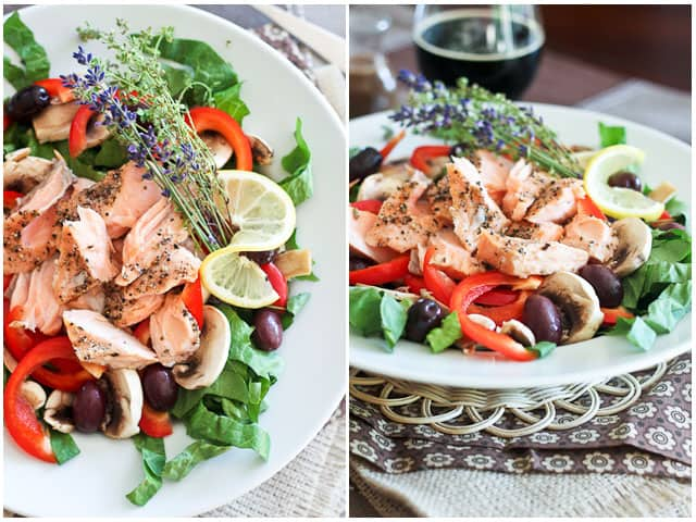 Quick Leftover Salmon Salad | by Sonia! The Healthy Foodie