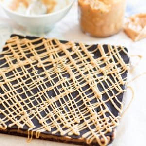 Triple Decker Peanut Butter Squares