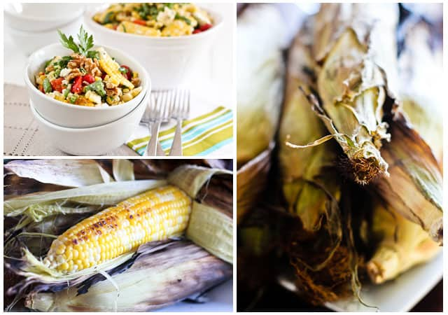 Grill Roasted Corn Salad