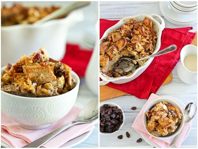 Healthy Apple Cinnamon Bread Pudding | by Sonia! The Healthy Foodie