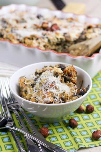 Baked Brown Rice Casserole | by Sonia! The Healthy Foodie